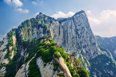 The Hua mountain glory_landscape_xian Stock Images