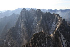 Huashan Royalty Free Stock Photo