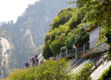 Huashan Mountain Royalty Free Stock Images