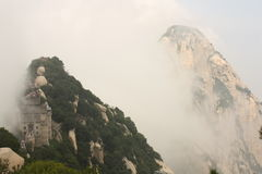 Huashan Mountain in China Royalty Free Stock Photos