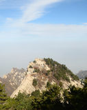 Huashan mountain Stock Photo