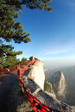 Huashan mountain Stock Photography
