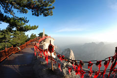 Huashan mountain Stock Photos