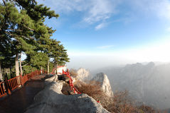 Huashan mountain Royalty Free Stock Photo