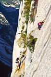 Huashan(Mountain Huashan)-Changkong Cliff Footway Stock Photography