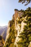 Huashan(Mountain Huashan)-East peak Royalty Free Stock Photography