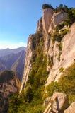 Huashan(Mountain Huashan)-East peak Stock Images