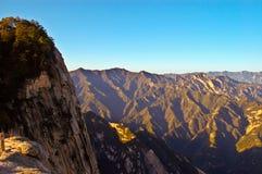 Huashan(Mountain Huashan) scene Stock Images
