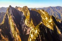 Huashan(Mountain Huashan) scene Royalty Free Stock Photography