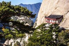 Huashan(Mountain Huashan) scene Stock Image