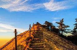 Huashan(Mountain Huashan)-West peak Stock Image