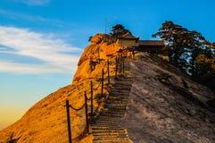 Huashan(Mountain Huashan)-West peak Stock Photography