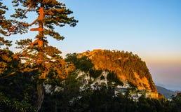 Huashan(Mountain Huashan)-West peak Royalty Free Stock Photo