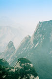 Huashan Mountain Stock Photography