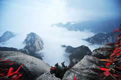 Huashan mountain  in the morning Royalty Free Stock Photo