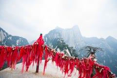 Huashan mountain scene Stock Photography