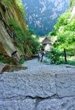 Huashan mountain Stock Photo