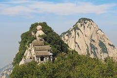 Huashan Mountain, Xian, China. Mountain View Huashan, Xian, China Stock Photo