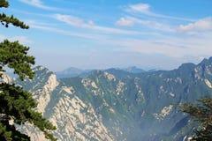 Huashan Mountain, Xian, China. Mountain View Huashan, Xian, China Royalty Free Stock Image