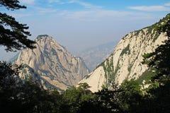 Huashan Mountain, Xian, China. Mountain View Huashan, Xian, China Stock Images