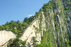 Huashan scenery Royalty Free Stock Image