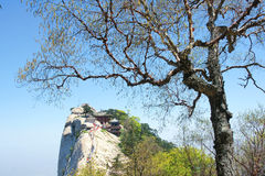 Huashan scenery Royalty Free Stock Photos