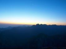 Huashan sunrise Royalty Free Stock Photo