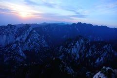 Huashan sunrise Royalty Free Stock Image