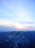 Huashan sunrise Stock Photo