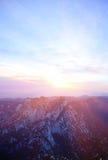 Huashan sunrise Stock Photos