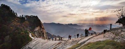 Free Huashan Sunset Royalty Free Stock Photos - 35267938
