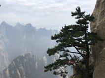 Huashan van China royalty-vrije stock afbeeldingen