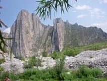Huasteca kanjon Monterrey Nuevo Leà ³ n Royaltyfria Foton