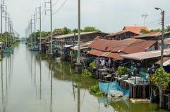 Huatakea floating market Stock Photography