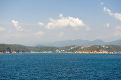 huatulco Μεξικό ακτών στοκ εικόνες