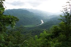 huatulco ορεινών περιοχών στοκ εικόνες
