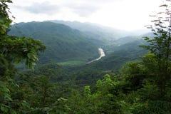 huatulco гористых местностей стоковые изображения