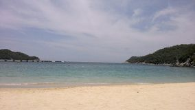 Huatulco. Bay in Oaxaca, Mexico Royalty Free Stock Images