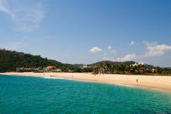 Huatulco beach scene Mexico stock photography