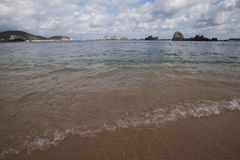 Huatulco-Bucht Lizenzfreies Stockfoto