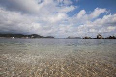 Huatulco-Bucht Stockbild