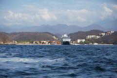 Huatulco, México, costa fotografía de archivo libre de regalías