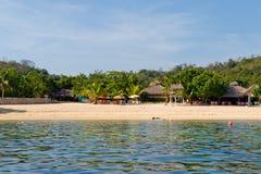 huatulco magay Мексика залива Стоковая Фотография