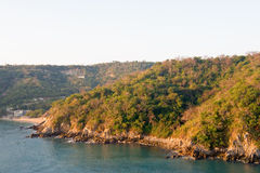 huatulco Mexique de littoral photo stock