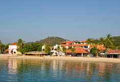 Huatulco Seaside Royalty Free Stock Photos