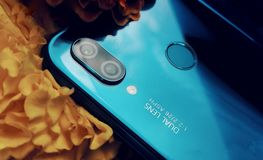 Huawei Nova 3e fotografía de archivo