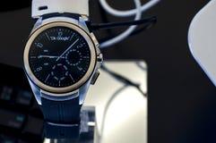HUAWEI zegarek - MOBILNY ŚWIATOWY kongres 2016 obrazy royalty free