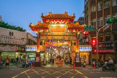 Free Huaxi Street Night Market In Taipei, Taiwan Royalty Free Stock Images - 195585789