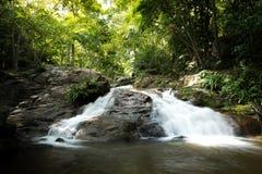 Huay杨瀑布,国家公园,班武里府,泰国 图库摄影