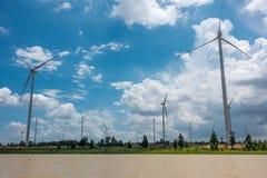 Huay Bong Wind Farm Imagen de archivo